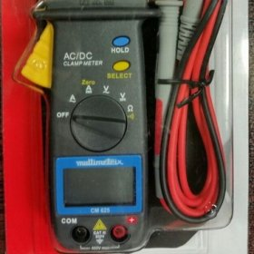 مولتی متر کلمپی AC+DC   ساخت MULTIMETRIX فرنسه سری 600