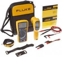 دستگاه    کیت ابزار ترمومتر لیزری و مولتیمتر دیجیتال ،فلوک Fluke 116/62 MAX