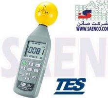 دستگاه اندازه گیری امواج الکتریکی الکترواسموگ مدل TES-593 ,ساخت کمپانی TES تایوان