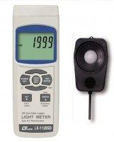 لوکس متر / ترمومتر دیجیتال دارای کارت حافظه   LX-1128 SD   _   lutron