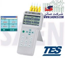 ترمو متر دیتالاگر4 کاناله, ترمودیتالاگر, ترمومتر دیتالاگر ,مدل TES-1384 , ساخت کمپانی TESتایوان