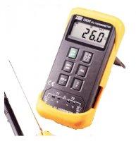 ترمومتر تماسی,دماسنج , حرارت سنج ,مدل TES-1306 ,(k/j thermometer)