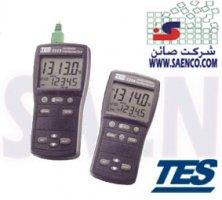 ترمومترتماسی, دماسنج , حرارت سنج ,مدل ,Tes-1314(J,K,E,T,R,S,N thermometer)