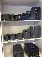 فروش محصولات شرکت سانترنو Santerno : درایو های AC و DC ، اینورتر و سافت استارت