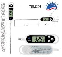 دماسنج نفوذی , ترمومتر نفوذی, ترمومتر میله ای, دماسنج میله ای, مدل TEM303
