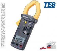 پاور متر کلمپی , کلمپ متر, کلمپ مولتی متر. مدل TES-3079K