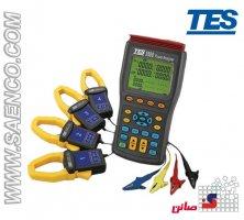پاور آنالایزر سه فاز 1000A مدل TES-3600 ساخت کمپانی TES تایوان
