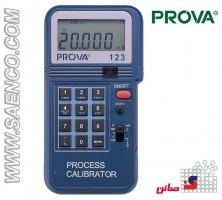 مولتی کالیبراتور (کالیبراتور جریان، ولتاژ، فرکانس و دما) مدل Prova 123