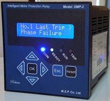 رله هوشمند حفاظت الکتروموتورهای سه فاز  مدل DMP-2