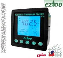 اسکنر اتوماتیک 10 کاناله دما مدل ATS-2000 ساخت کمپانی EZDO تایوان