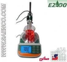 اسید سنج ، هدایت سنج الکتریکی، ORPمتر ، دماسنج مایعات مدل PL-700PV ساخت کمپانی EZDO تایوان