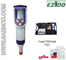 EC،TDS، Salt،°C متر قلمی مدل 7021 ساخت کمپانی EZDO تایوان