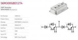 IGBT-SEMIKRON-SKM400GB12T4-SKM300GB12T4-SKKH57-16E- سمیکرون- ماژول