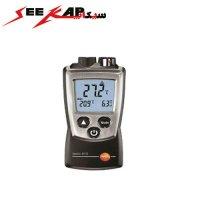 ترمومتر لیزری و محیطی با کیفیت تستو مدل TESTO 810