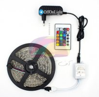 ریسه نواری اس ام دی 5050 مولتی کالر RGB (ضد آب با چسب 3M آمریکا)