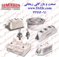 ماژول IGBT سمیکرون - ماژول دیود تریستور semikron- ماژول دوبل تریستور SEMIKRON