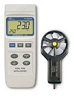 فلومتر - سرعت سنج باد - ترمومتر  YK-2005AM ساختLutron تایوان