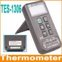 ترمومتر دو کاناله مدل TES-1306 ساخت کمپانی TES تایوان