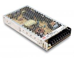 LRS-200 ، منبع تغذیه کف خواب مینول 200 وات ، منبع تغذیه 200 وات   Mean Well
