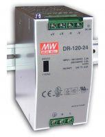 DR-120 ، منبع تغذیه ریلی مینول 120 وات ، منبع تغذیه 120 وات  Mean Well