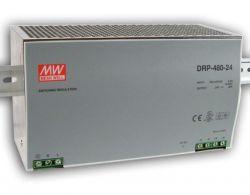 DRP-480 ، منبع تغذیه ریلی مینول 480 وات ، منبع تغذیه 480 وات Mean Well