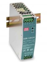 EDR-120 ، منبع تغذیه ریلی مینول 120 وات - منبع تغذیه 120 وات Mean Well