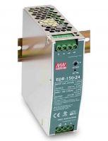 EDR-150 ، منبع تغذیه ریلی مینول 150 وات ، منبع تغذیه 150 وات Mean Well