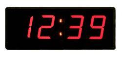 ساعت دیجیتال دیواری سیب سیاه سایز 11 در 24  سانتیمتر
