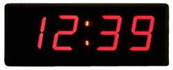 ساعت دیجیتال دیواری سیب سیاه سایز 12 در 28  سانتیمتر