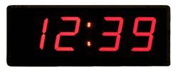 ساعت دیجیتال دیواری سیب سیاه سایز 18 در 48 سانتیمتر به همراه تایمر و کرنومتر