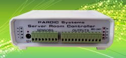 دستگاه کنترل دمای اتاق سرور با موبایل