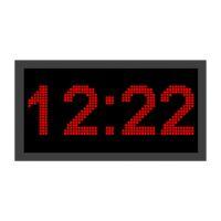 ساعت دیجیتال دیواری مدل m42-74 سایز 42×74 سانتیمتر