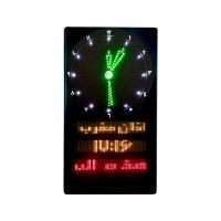 ساعت دیجیتال دیواری اذان گو مدل c90 عمودی سایز 60×115 سانتیمتر