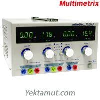 منبع تغذیه DC  - سه کاناله  دوبل تراکینگ 30 ولت 5 آمپر مدل XA3033  مولتیمتریکس