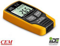 دیتالاگر دیجیتال دما و رطوبت CEM مدل DT172-TK