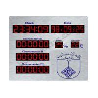ساعت،تاریخ دماسنج و رطوبت سنج بیمارستانی اتاق عمل سایز 120*90