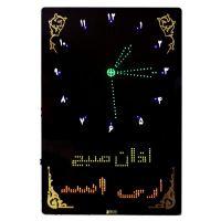 ساعت مسجد دیجیتال طرح حرم امام رضا مدل M2 عمودی