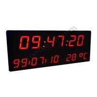 ساعت و تقویم دیجیتال دیواری بزرگ مدل 130-50